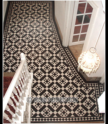 Interior Tiled Flooring Fitters Victorian Edwardian And Geometric