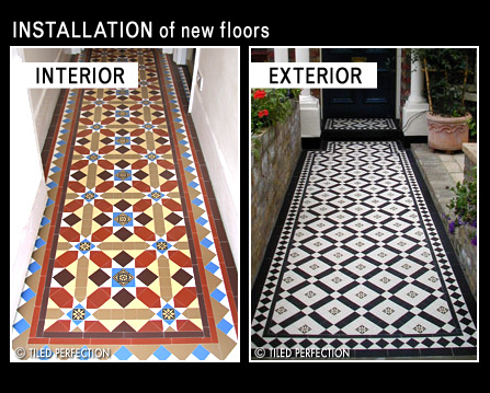 Victorian Edwardian And Geometric Tiled Flooring Fitters